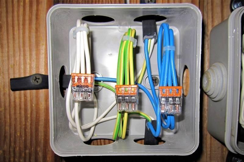 Разводка проводов в распределительных коробках - всё о электрике в доме
