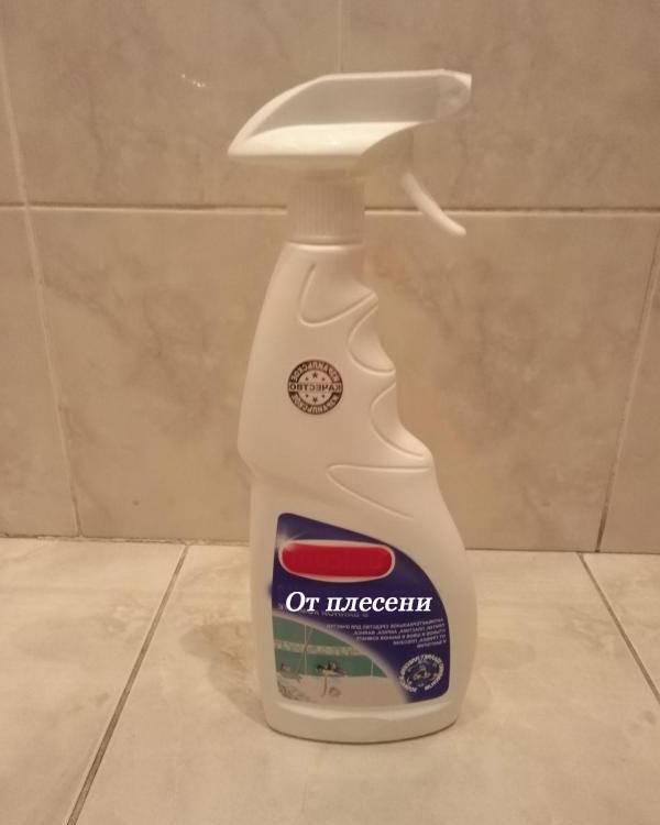 Грибок и черная плесень в ванной: как избавиться?