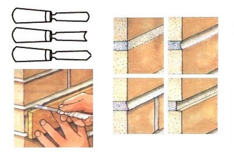 Затирка швов декоративного кирпича: как затирать кирпич из гипса своими руками герметиком или шприцом?