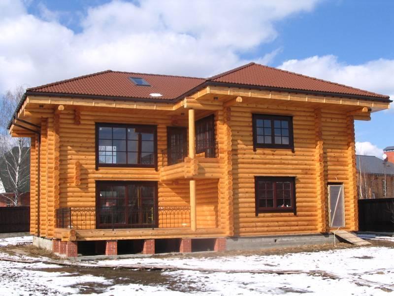 Дом из бруса - как построить современный и экологичный дом, выбор материалов и советы застройщиков