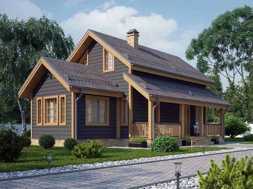 Одноэтажные финские деревянные дома: проекты и главные правила строительства