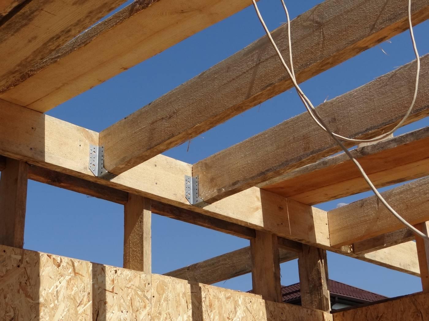 Деревянное перекрытие второго этажа. как сделать деревянное перекрытие между этажами в кирпичном доме