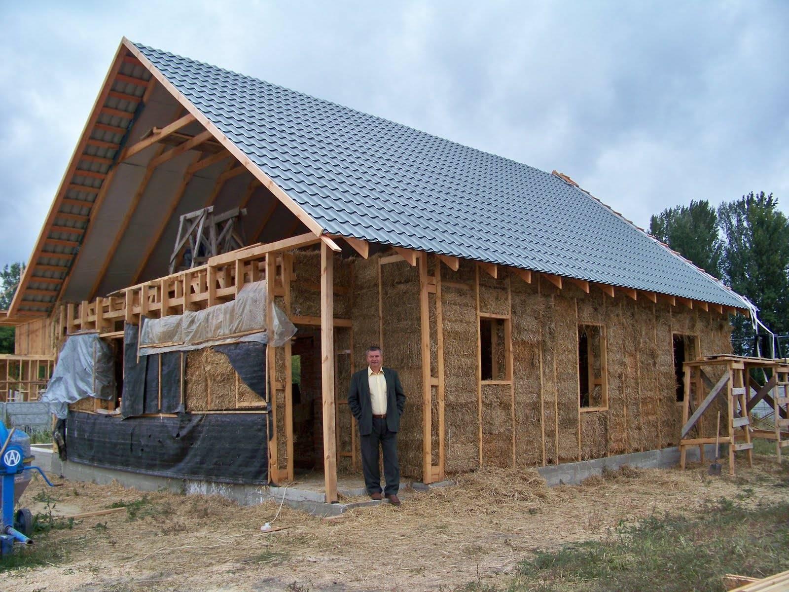 Как быстро и недорого построить дом из газоблоков своими руками