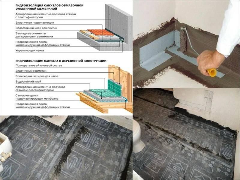Гидроизоляция пола в деревянном доме: правила, способы, пошаговая инструкция