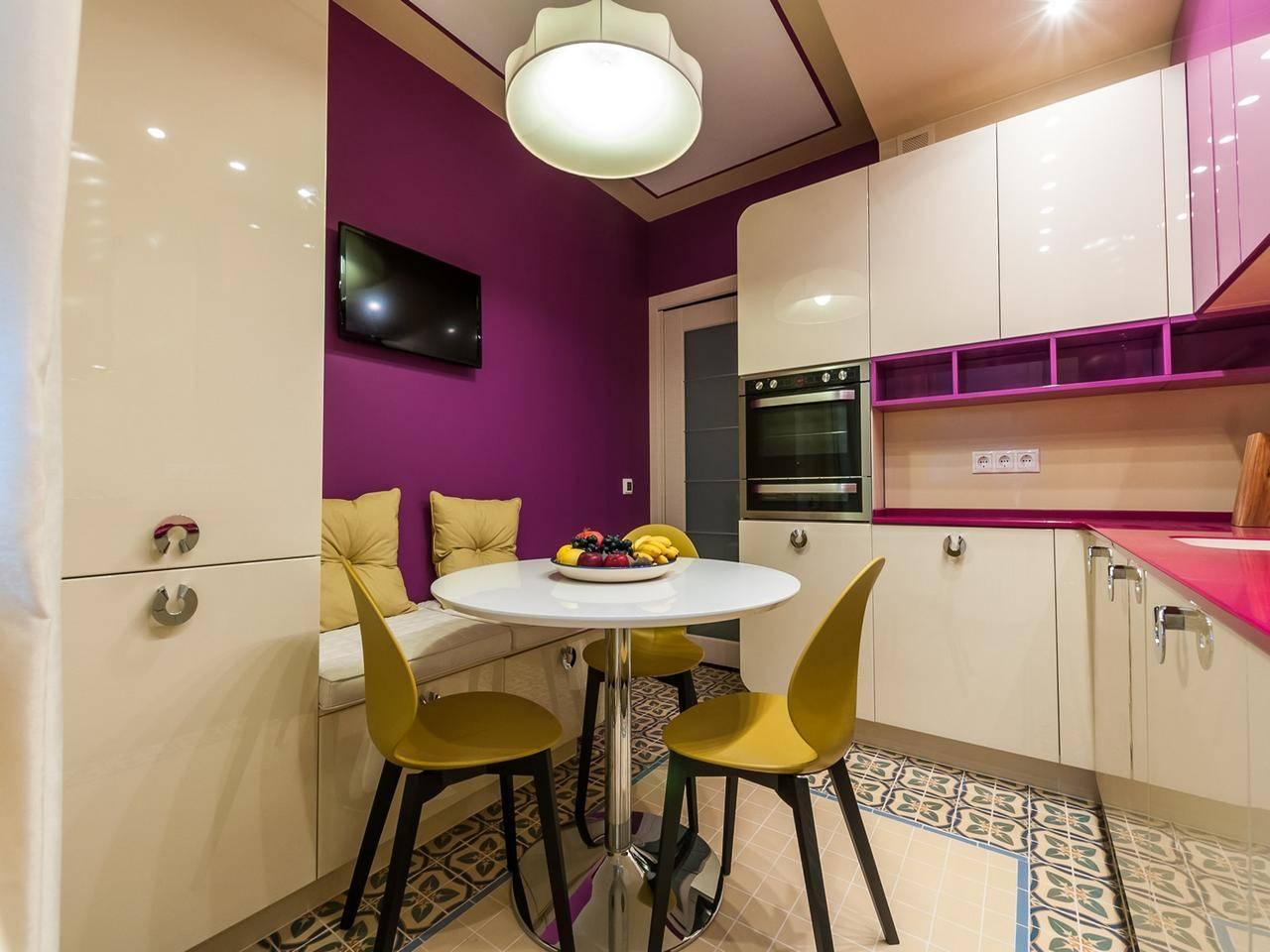 Кухня 9 кв метров: современные фото идей