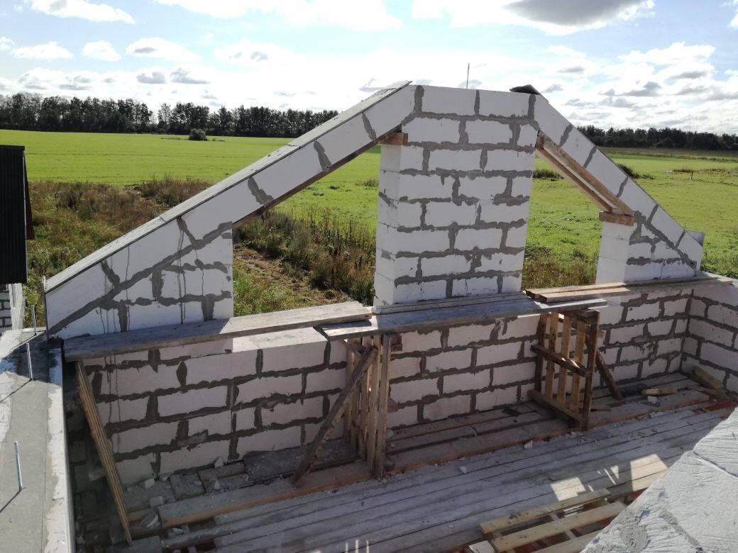 Как сделать дом из газобетона (газоблока): строительство дома своими руками без опыта строительства