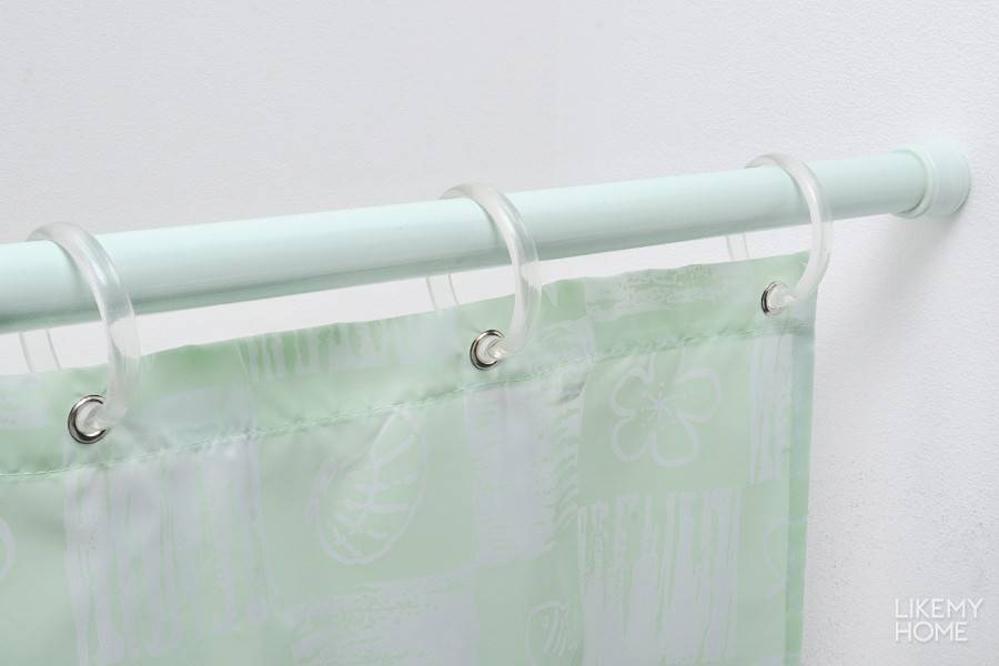 Вешаем штору в ванной: инструкция по установке, как сделать шторку своими руками