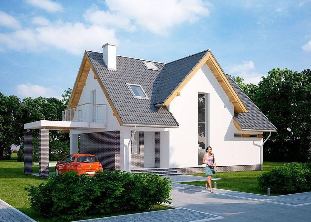 Дом с мансардой: красивые проекты (100 фото)