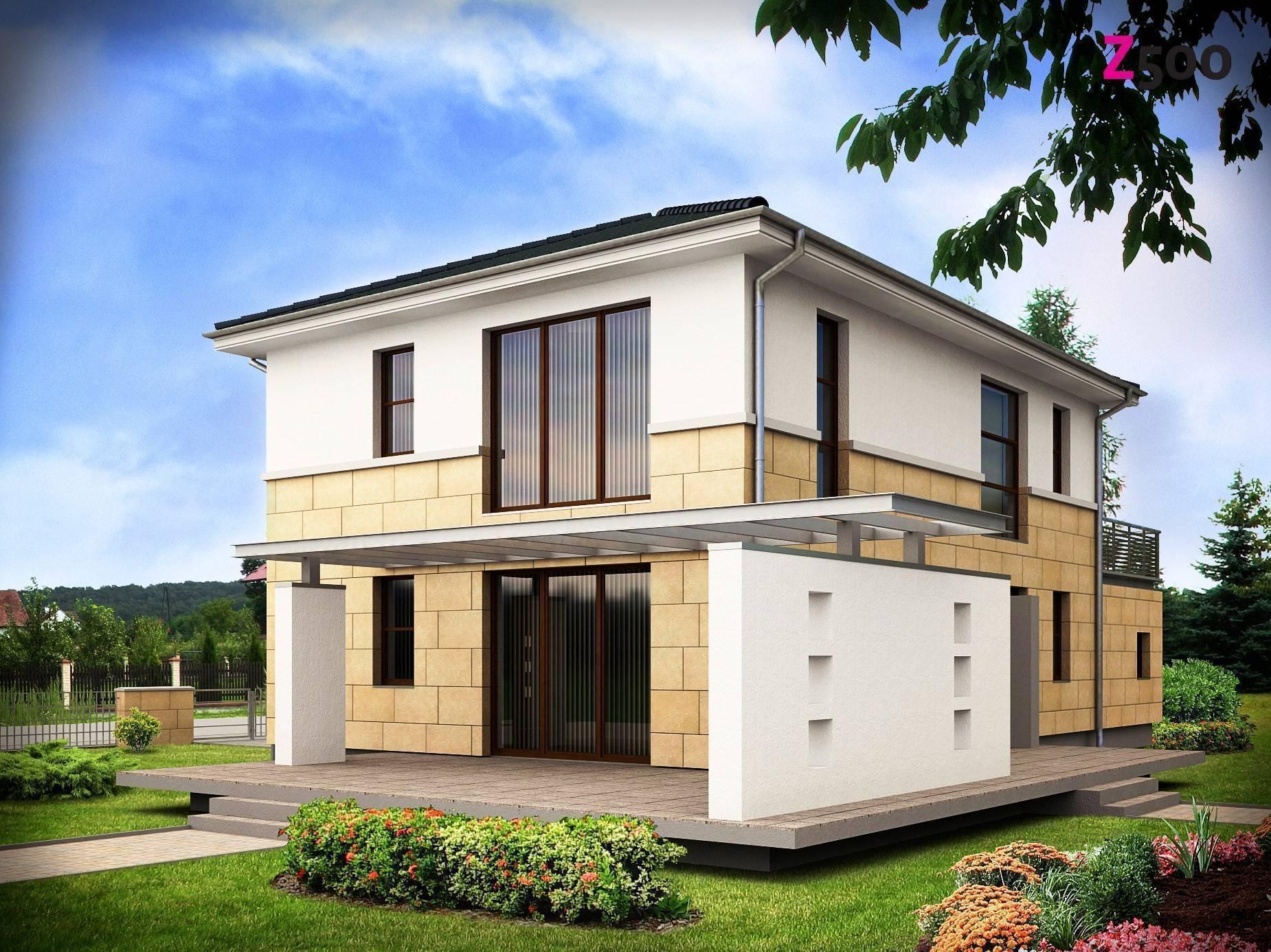 Двухэтажный частный дом: 90 фото лучших проектов и советы как построить дом быстро и просто