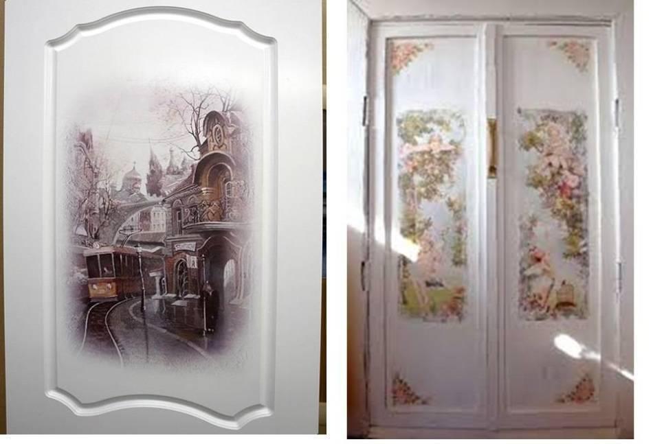 Как обновить старую дверь своими руками, как отреставрировать межкомнатную дверь, видео