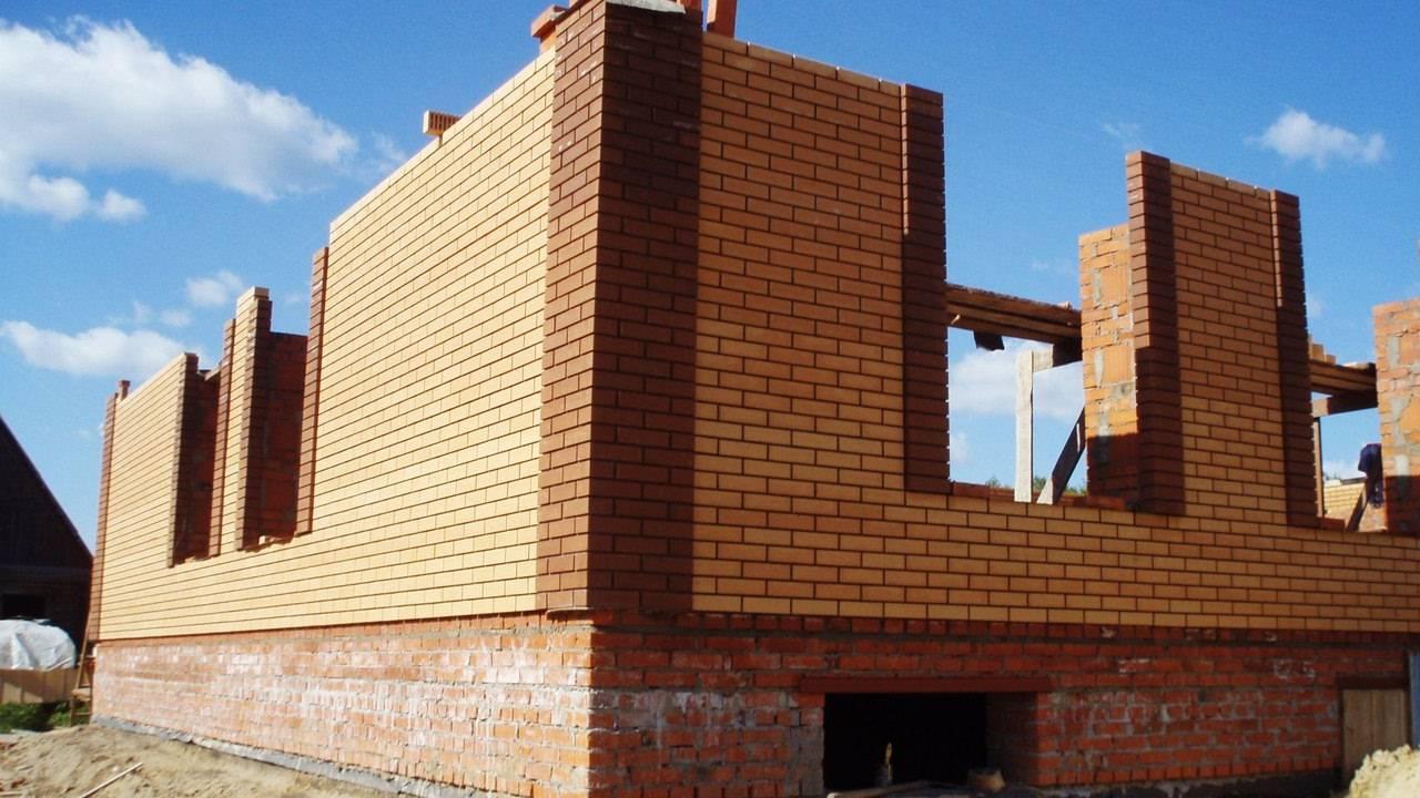 Дом из кирпича 100 кв и стоимость строительства: расчет