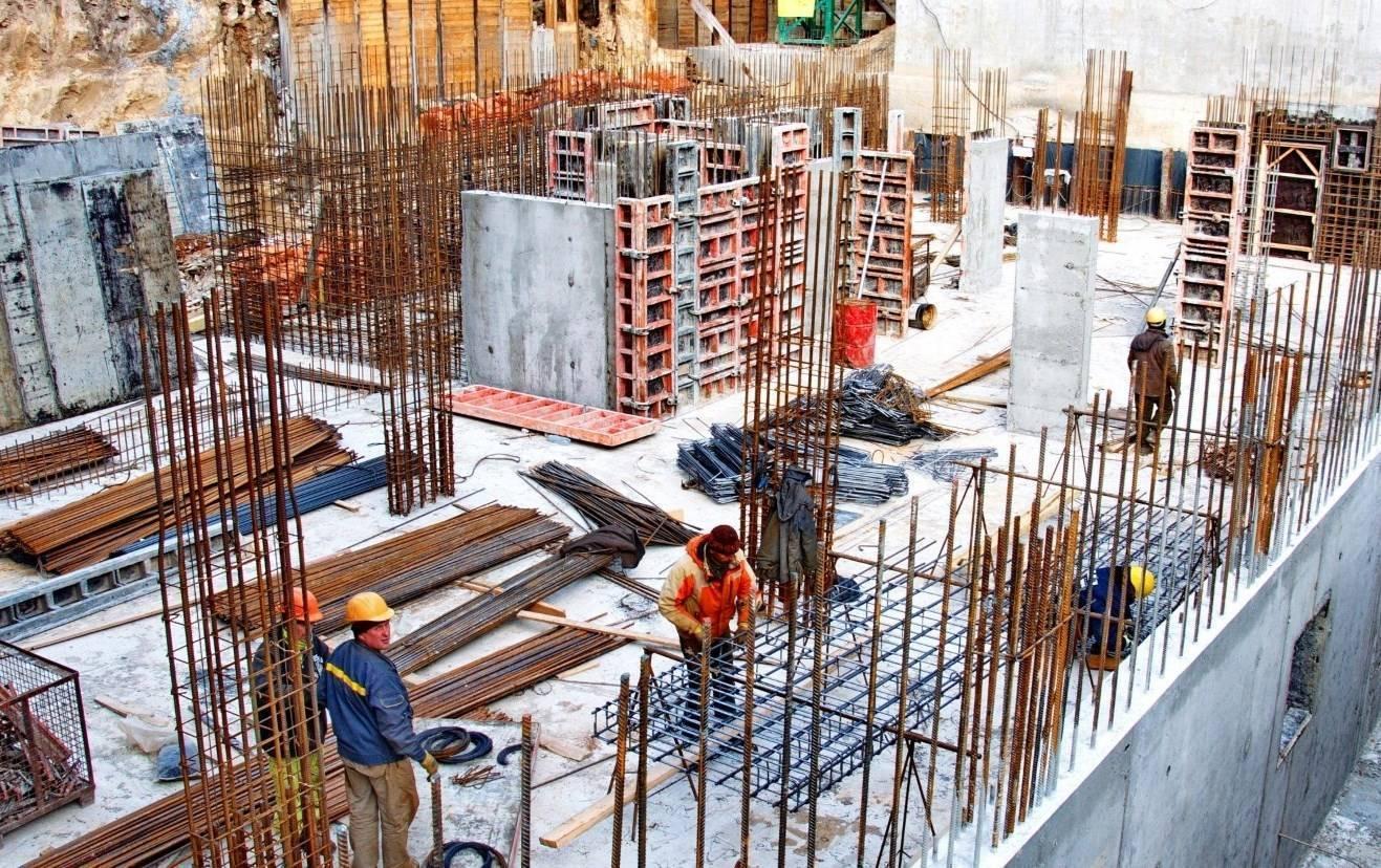 Каркасно-монолитная технология строительства коттеджей и домов.
