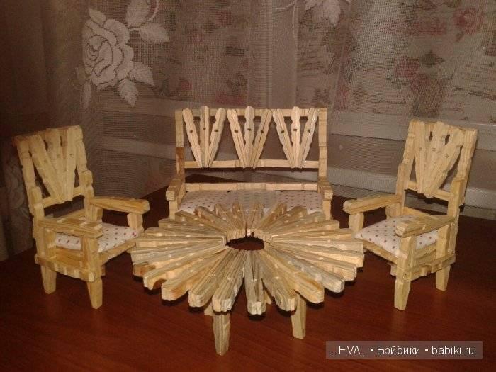 Мебель для кукол своими руками | как сделать удобную и практичную мебель (95 фото)