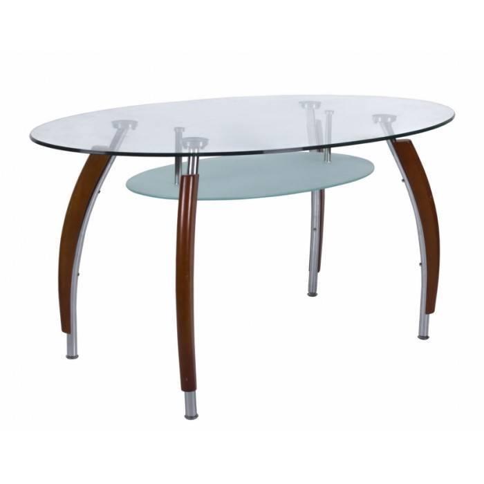 Кухонный стол стеклянный — стильная конструкция для любого дизайна