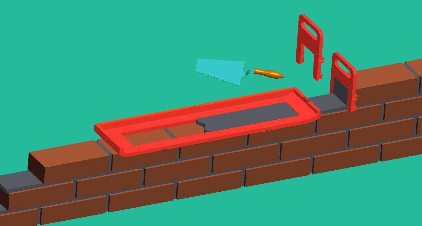 Как класть декоративную гипсовую плитку под кирпич: особенности и технология укладки
