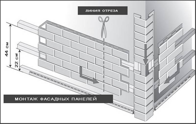 Отделка дома цокольным сайдингом снаружи своими руками - все о строительстве и инструментах