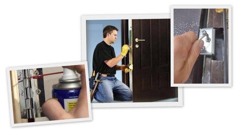 Способы регулировки входной металлической двери