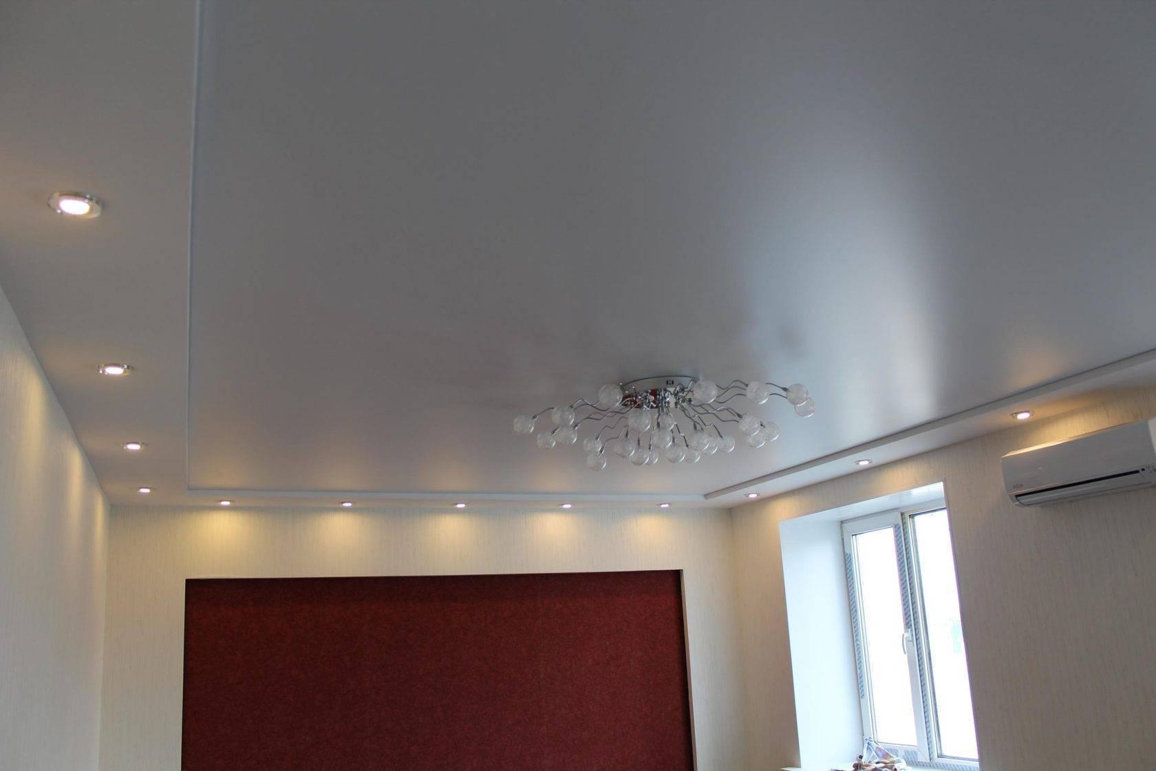 Тканевые натяжные потолки: виды, плюсы и минусы