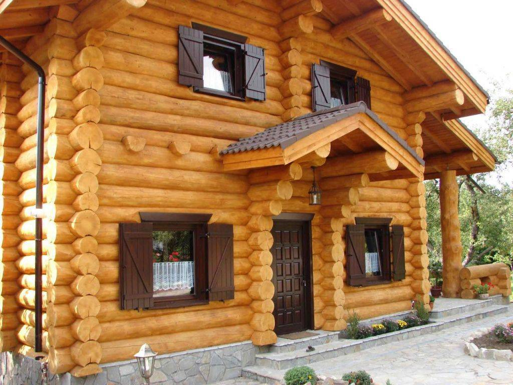Дома из оцилиндрованного бревна: что говорят отзывы владельцев