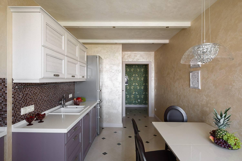 Чем можно отделать стены на кухне в квартире и частном доме