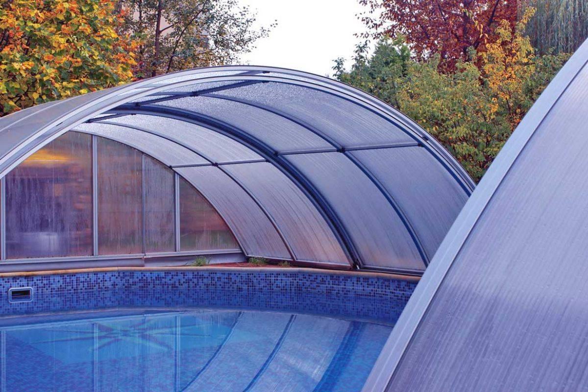 Пошаговая инструкция возведения крыши для беседки из поликарбоната