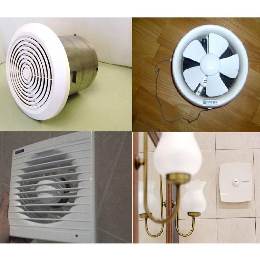 Виды вентиляторов для вытяжки в ванной комнате, как выбрать лучший