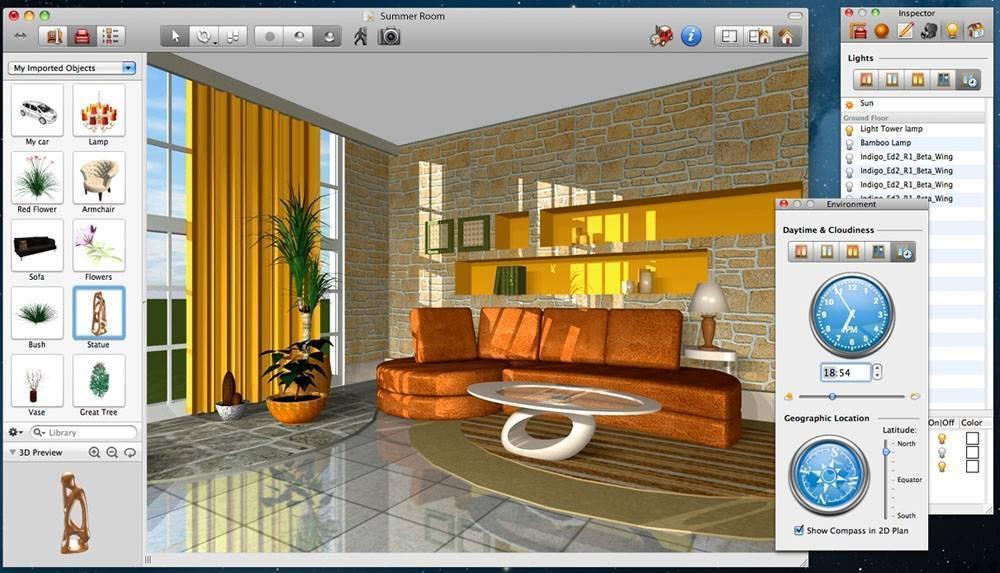 Программы для планировки, дизайна, интерьера, оформления квартиры