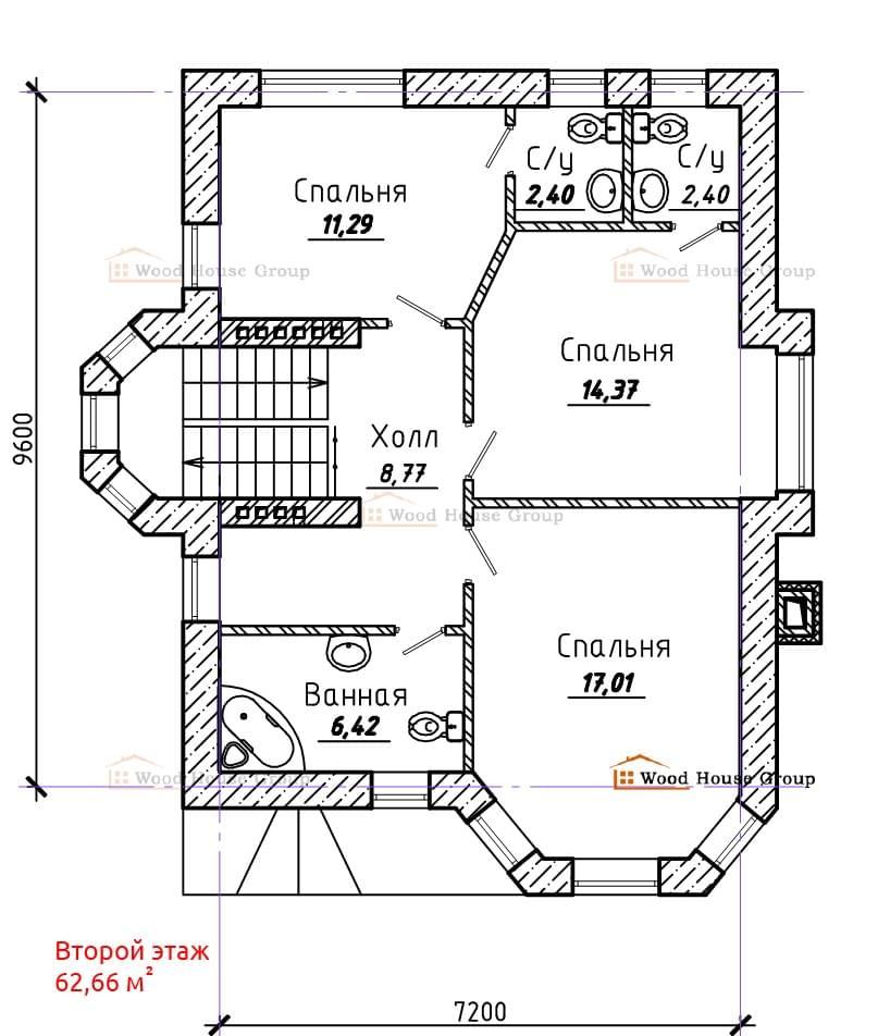Рассчитать количество газобетона на дом