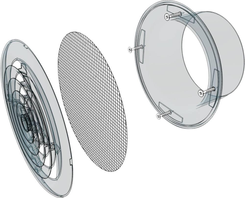 Вентиляционный диффузор — описание, назначение, типы, преимущества и недостатки