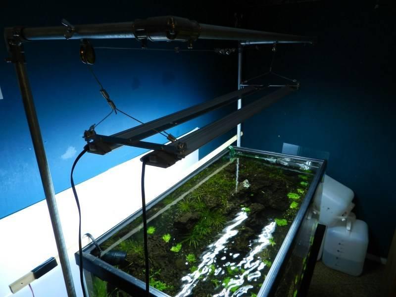 Освещение для аквариума своими руками: нормы, лампы, устройство