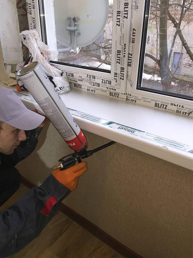 Технология установки пластиковых окон в кирпичном доме своими руками.