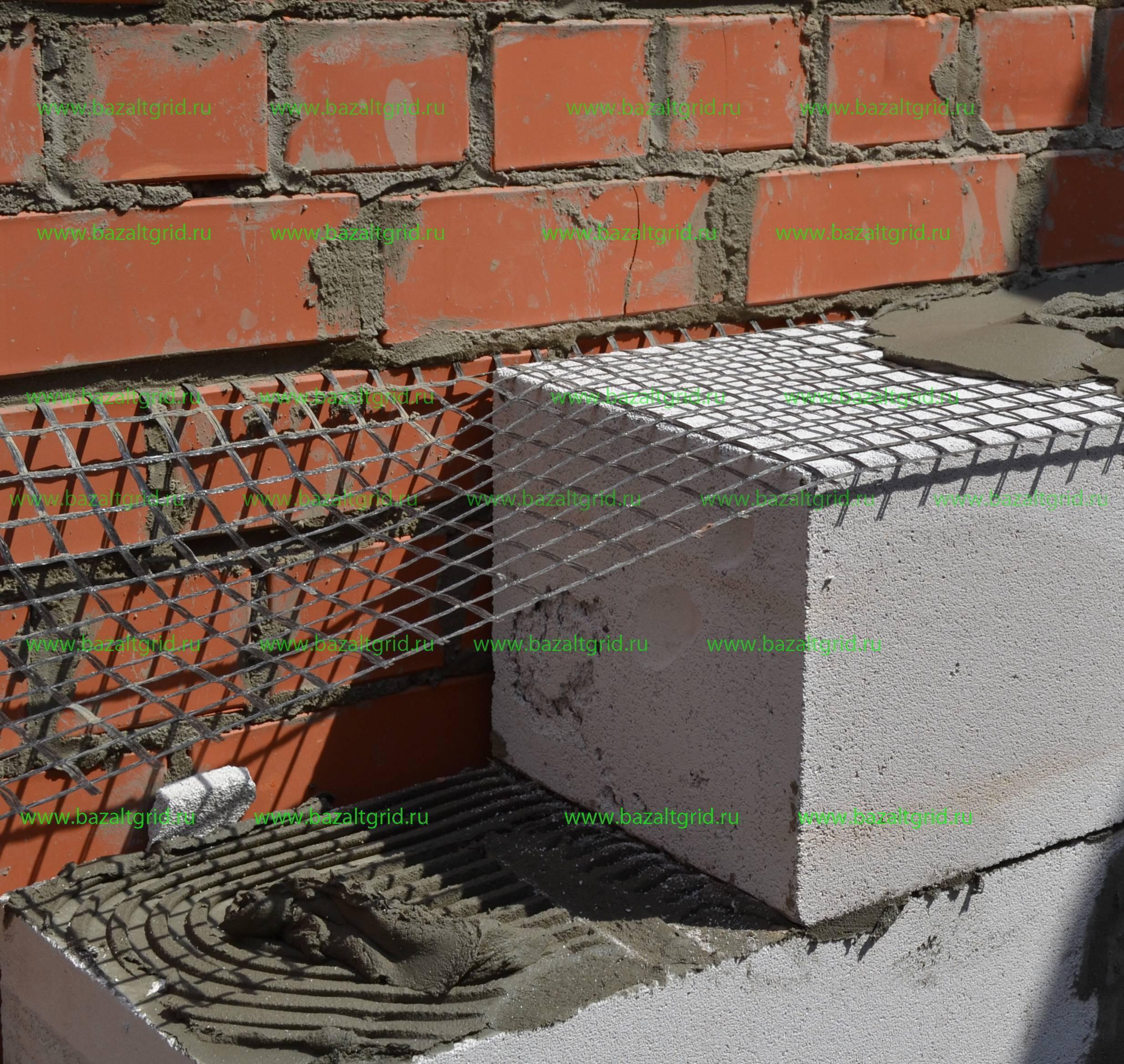 Как правильно сделать армирование газобетонных блоков своими руками: материалы, армопояс