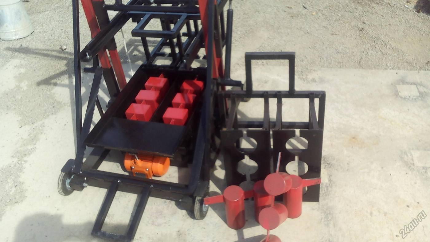 Оборудование для производства шлакоблоков и технология их изготовления в домашних условиях