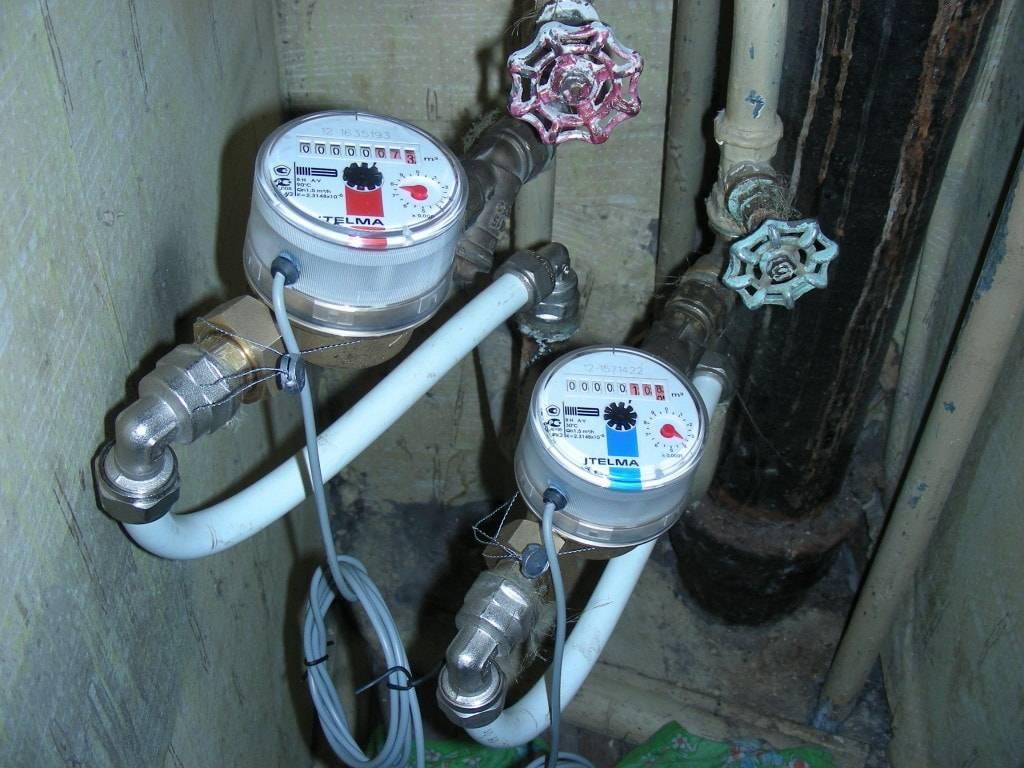 Установка счетчиков воды в квартире: требования водоканала