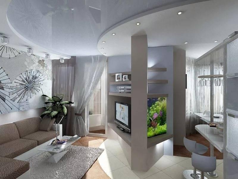 Дизайн квартиры-студии (114 фото): обустраиваем уютный интерьер однокомнатной квартиры
