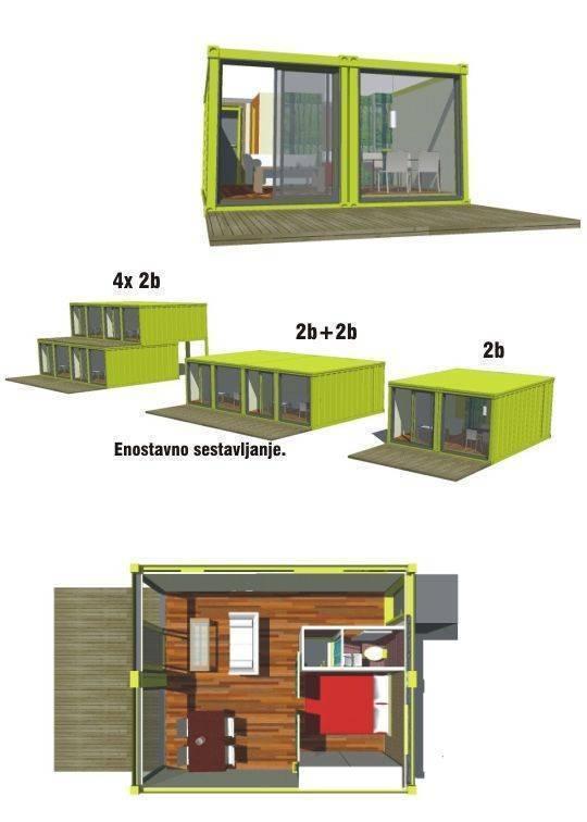 4 дома из контейнеров, фото и проекты. красивые интерьеры и дизайн