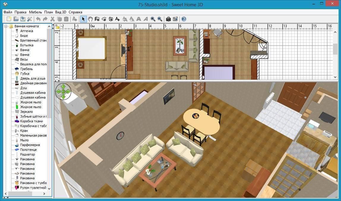 Дизайн интерьера 3d - обзор программ для проектирования интерьера