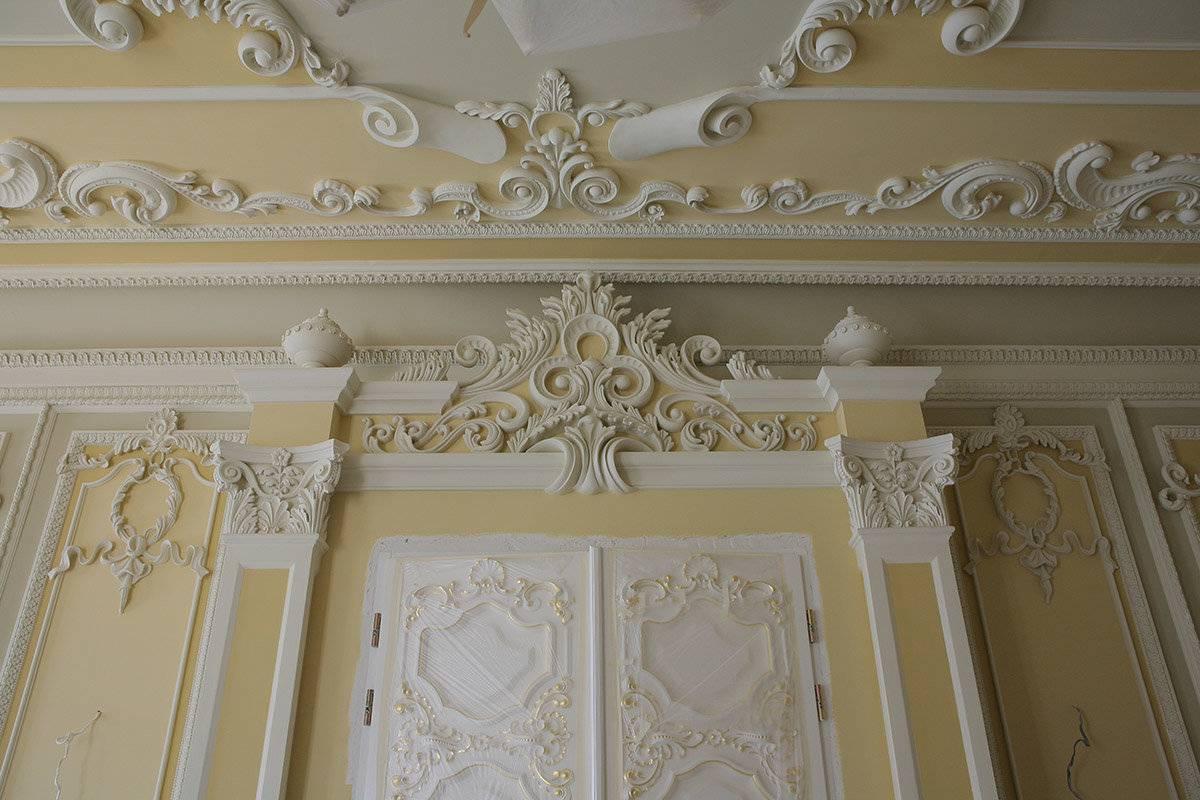 Гипсовая лепнина в интерьере – отличный ход для исправления стен и потолка   дизайн интерьера