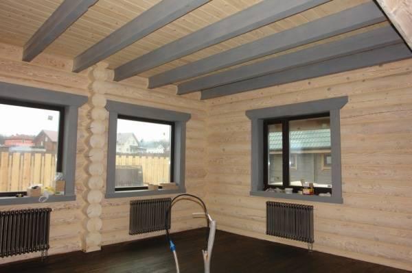Чем обшить потолок в деревянном доме внутри: идеи ремонта, инструкция, видео и фото