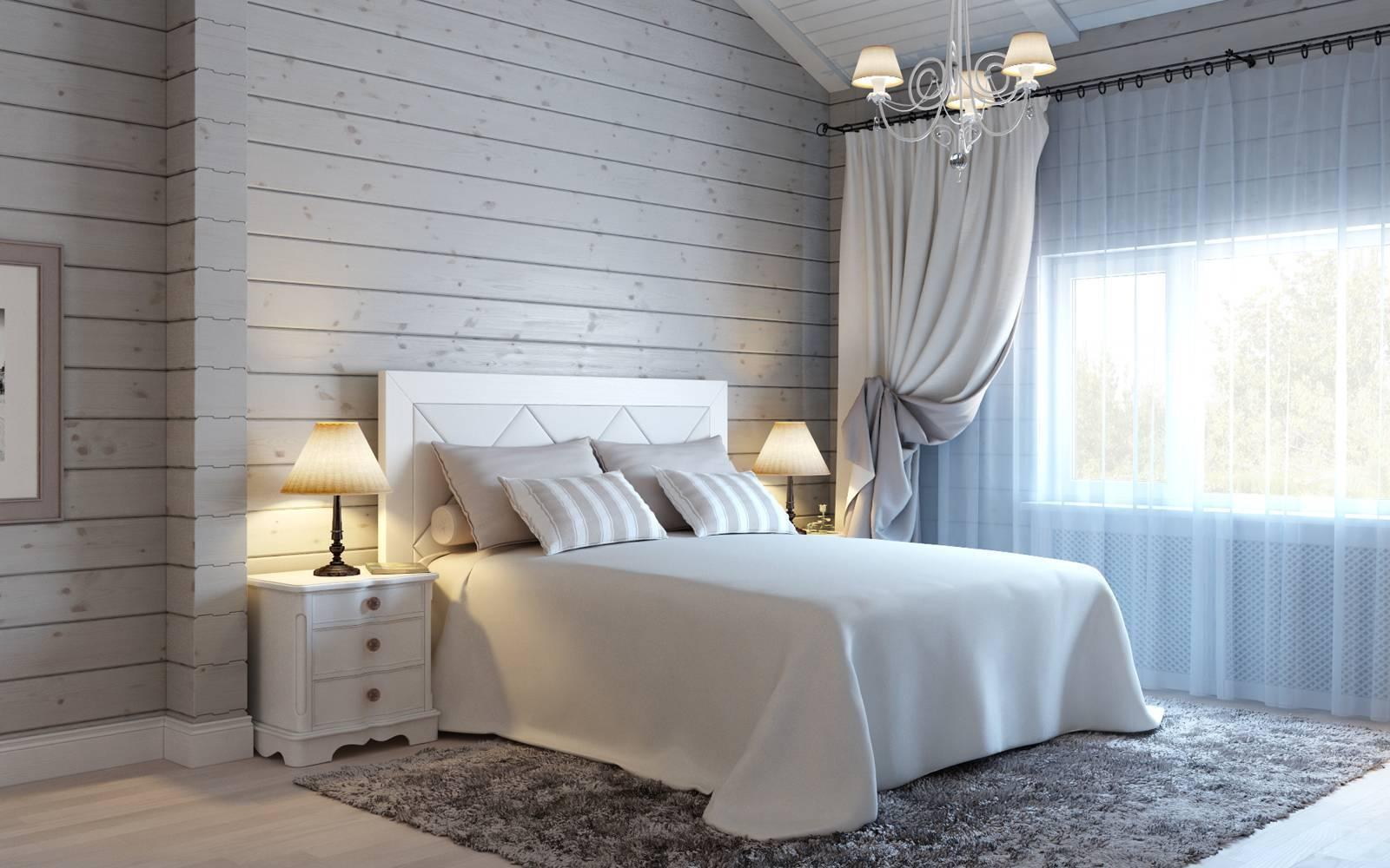 Как красить деревянный потолок&