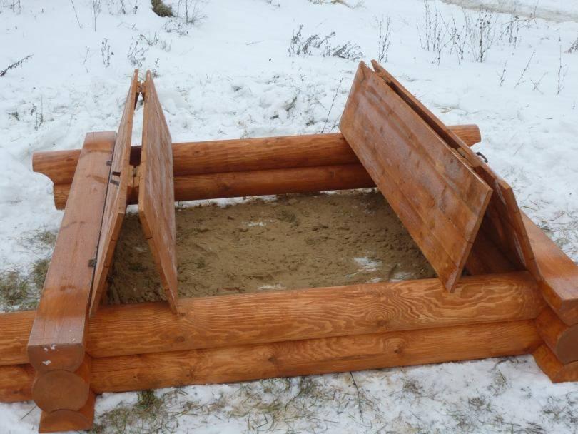 Как сделать детскую песочницу на даче своими руками (пошаговая инструкция) | дела огородные (огород.ru)