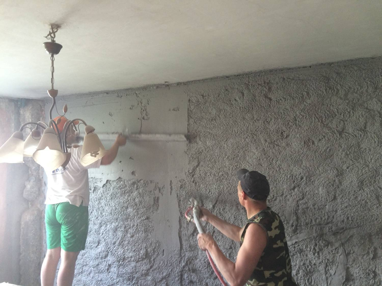 Шпаклевка стен под обои своими руками