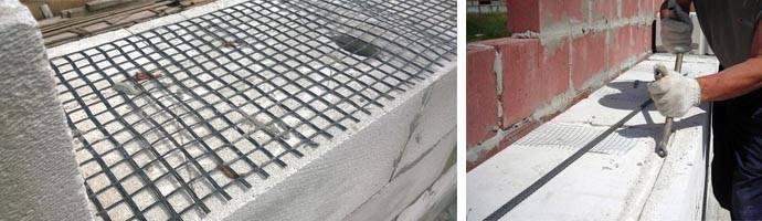 Как выполняется армирование стен из газобетона