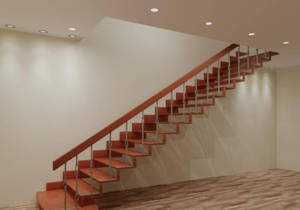 Лестница на второй этаж своими руками: инструкции, чертежи и фото деревянных и металлических лестниц