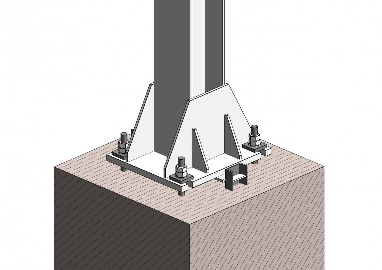 Фундамент стаканного типа под колонны (гост, план, технология, расчет, монтаж, армирование)