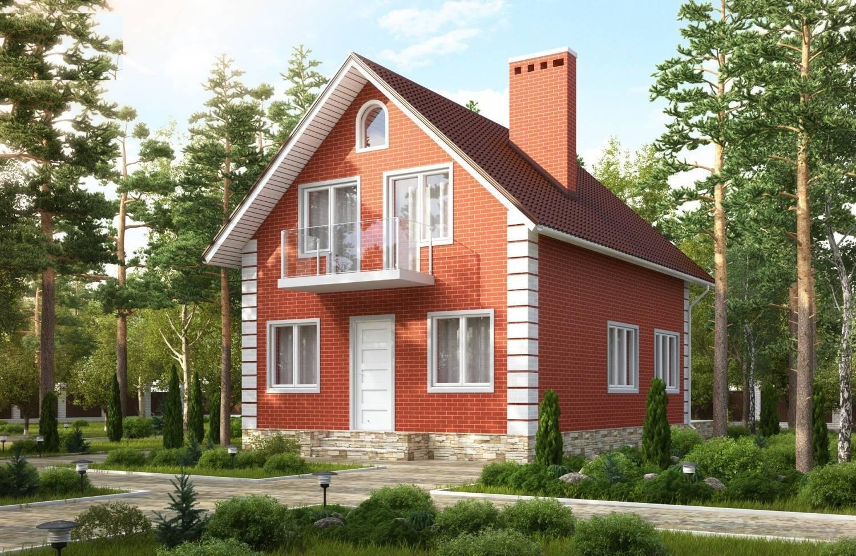 Небольшой кирпичный дом: как выбрать подходящий проект? кирпичный маленький дом