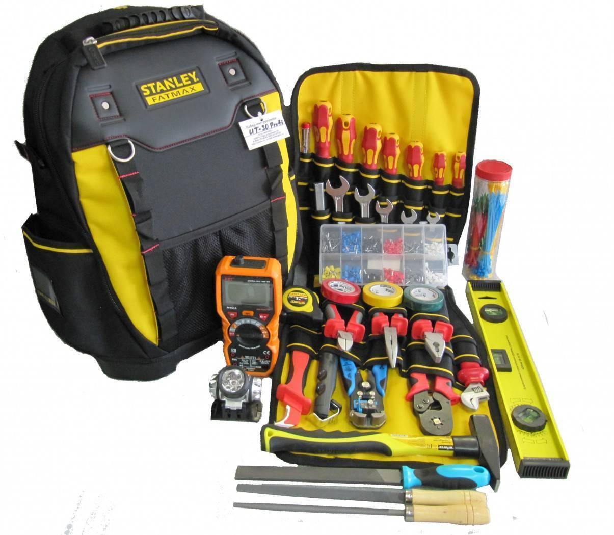 Основные инструменты для электрика