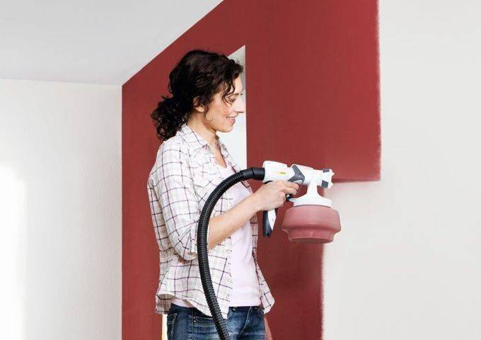 Краскопульт для водоэмульсионной краски: как выбрать? (+40 фото)