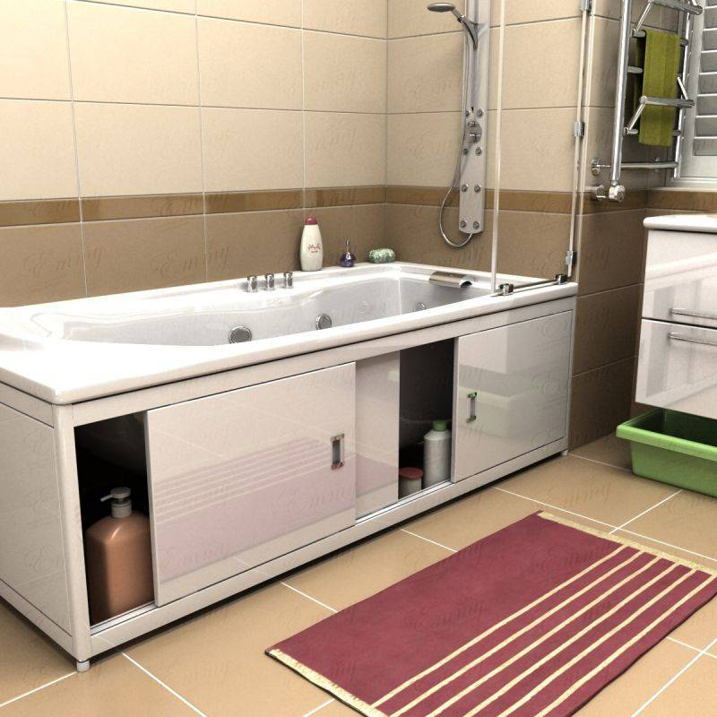 Экран под ванную своими руками - сделай сам - медиаплатформа миртесен
