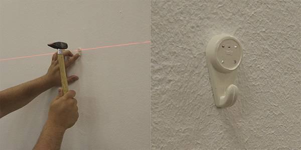 Как вешать модульные картины на стену